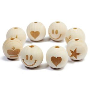 20PCs-Printed-Natural-Round-Wood-Spacer-Beads-20mm-3-4-034-for-DIY-Jewelry-Making
