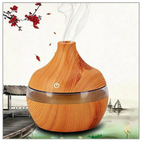 LED Ultrasonic Aroma Humidifier Purifier Mist Maker Air Aromatherapy Diffuser