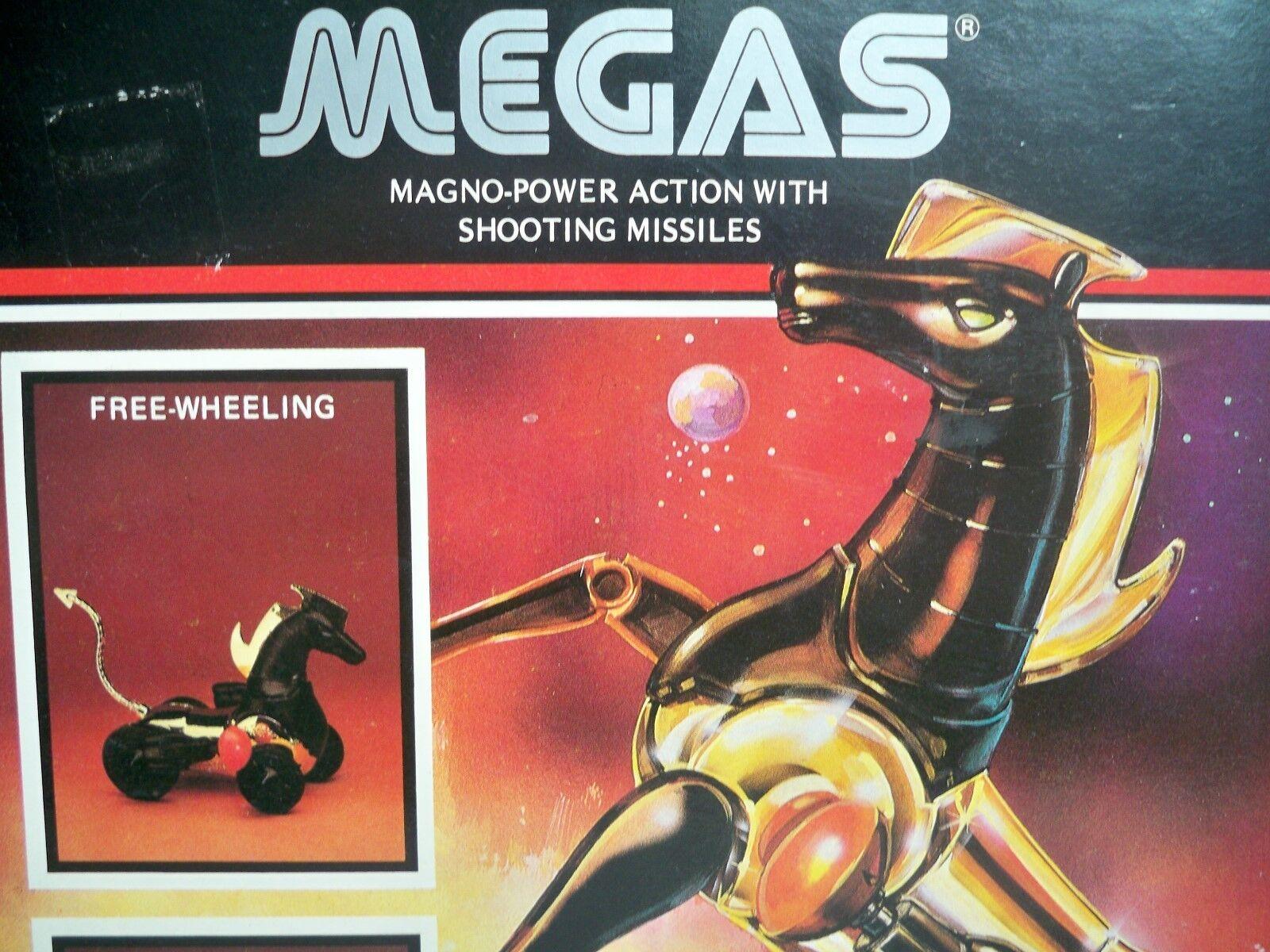 K1849001 MEGAS W BOX MICRONAUTS MEGO VINTAGE 1981 ORIGINAL