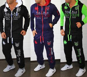 Men/'s Tracksuit Jogging Pants Jacket Trackies Fitness Streetwear Polo Club