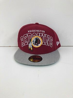 New Era 59Fifty LP Cap DRAFT On-Stage Washington Redskins