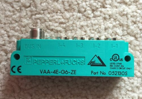 Pepperl+Fuchs Interface Sensor Module VAA4EG6ZE