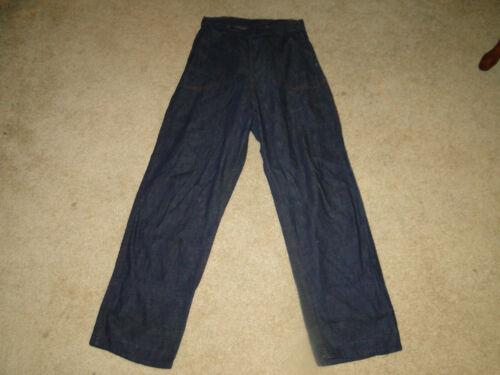 Vintage  50s Denim Jeans Made in usa Sz W 30x 30