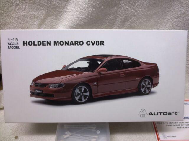 MONARO CV8R PULSE RED COLOUR HOLDEN - UNOPENED
