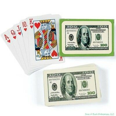 Set of 5 $100.00 Ben Franklin Casino Party Money