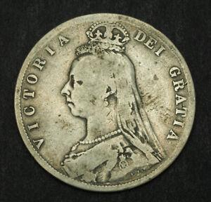 1888-Great-Britain-Queen-Victoria-Silver-Half-Crown-Coin-Fine