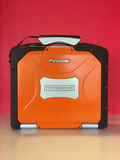 Panasonic Toughbook CF-30 - Win7 Pro /TouchScreen /4 GB RAM/DVD ORANGE FLAME
