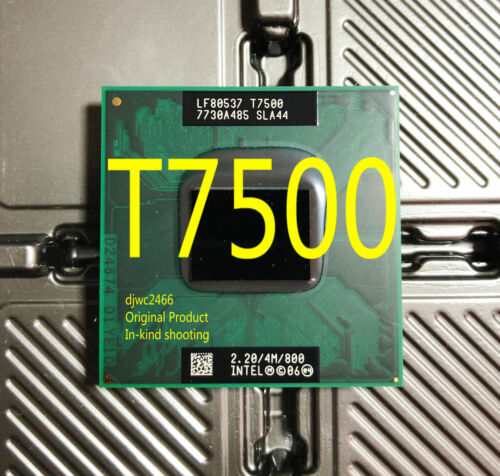 Notebook Processor SLA44 Intel Core 2 Duo T7500 2.2 GHz Dual-Core