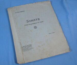 Sonate-Violoncelle-amp-Piano-de-Claude-DEBUSSY