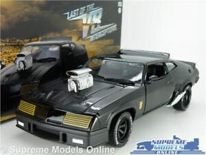 Ford Falcon Xb V8 Modèle de voiture Mad Max à l'échelle 1:24, noir, grand film Greenlight K8 7437126917944