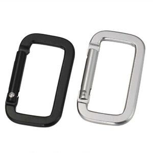 5pc-Travel-Carabiner-Aluminum-Alloy-Strong-Key-Climbing-Buckle-Square-Buckle-5CM