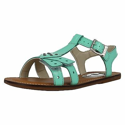 Girls LONI LOLA patent ankle strap sandals by CLARKS F FITTING £19.99