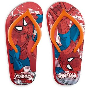 best value b32be 3ff93 Dettagli su Infradito Bambino Spiderman , Ciabatte Mare Piscina Marvel PS  09339