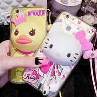 BIG HEAD 3D Cute Cartoon Funny Novelty Soft Gel Tpu Case Cover for iPhone Models