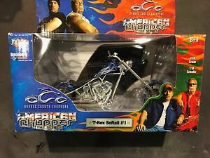 1/18 scale dircast motorcycle Orange County chopper