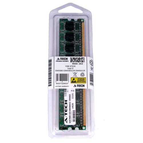 1GB DIMM Intel D945GBO D945GBOLKR D945GCCR D945GCCRG1 D945GCL Ram Memory