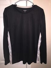 Men's Bugle Boy Long Sleeve T-Shirt Stretch Fit Athletic Size L