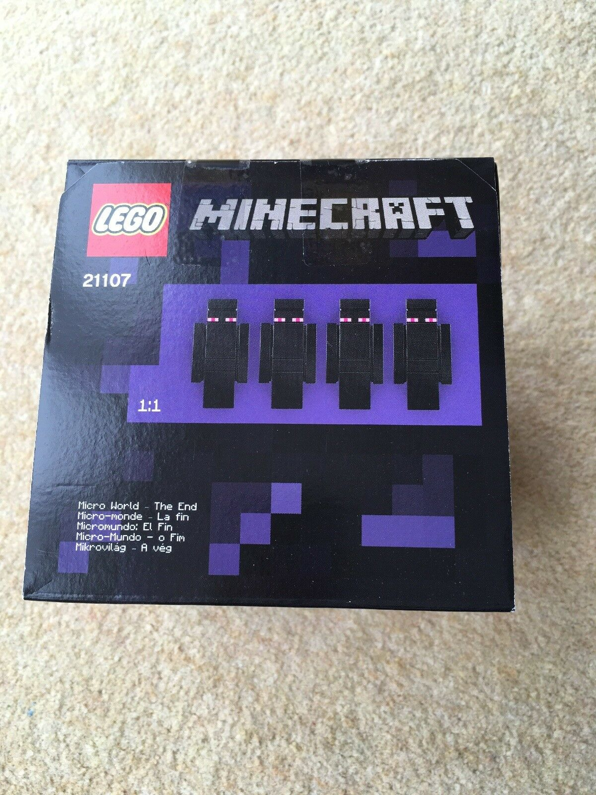 Lego 21107 - Minecraft Micro - The End - 2014 - NEW SEALED BOX