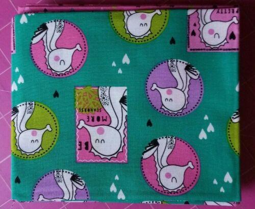 Sweet Little Seahorses FQ bundle 5 pieces music hearts 100/% cotton free P/&P,