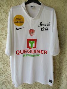 Football Trikot Stade Maillot Sur Nike Xl Brest Dri Détails Shirt Home 2012 Fit Brestois bfvyY6g7