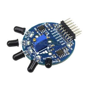 5 Way Flame Sensor Module Fire extinguisher Robot Digital Analog Output Arduino