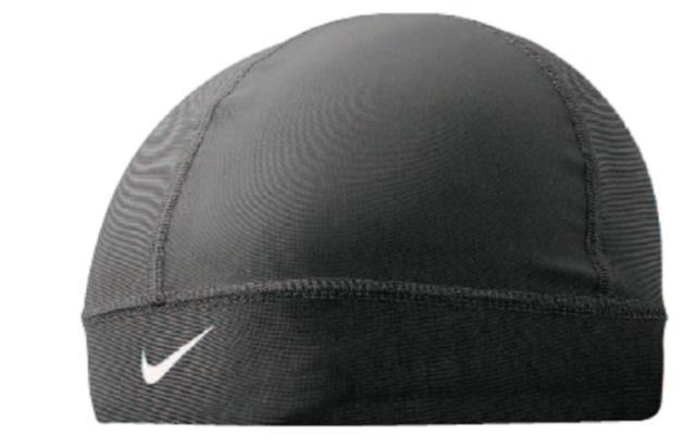 Buy Nike Men s Pro Black Combat Banded Skull Cap Hat Beanie Snapback ... 73e8db5bb