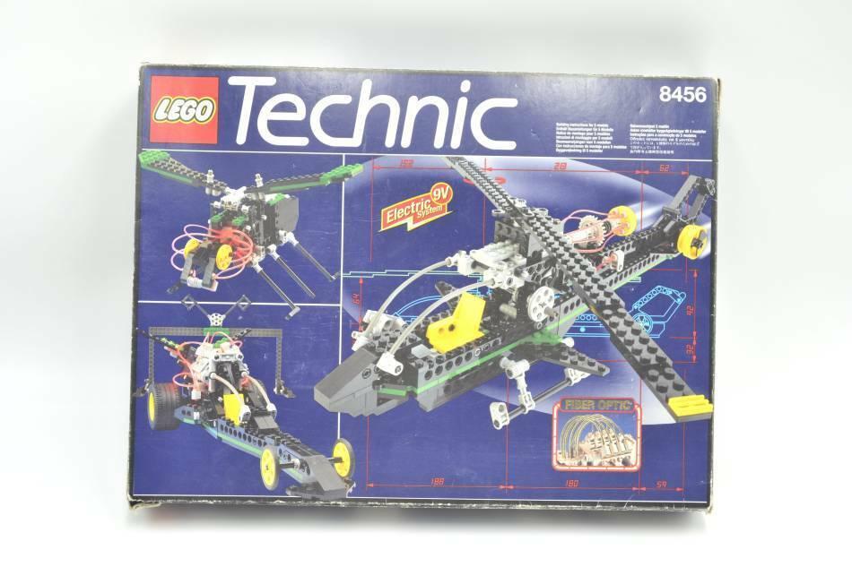LEGO set 8456 Fiber Optic Multi Set avec ba  Set with instruction & Box  confortablement