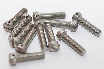 Socket Button Head Screw Scl Linsenkopfschraube ISK 4-40 UNC x 1//4 schwarz