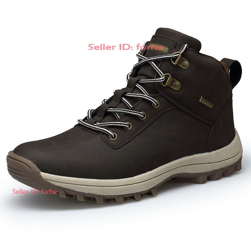 Men Outdoor Athletic Ankle Boot Hiking Climbing Walking Waterproof Trainers shoes