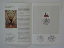 (09j30) Bund Erinnerungsblatt 2009 mit ESST Mi.Nr. 2752 Mainzer Dom
