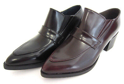 Spot On F9R725 Ladies Shoes Black or Burgundy Shoes R9A