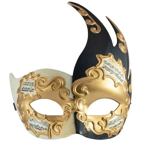 BLACK FILIGREE Venetian WOMENS Phantom MASQUERADE MaskFancy Dress PROM BALL