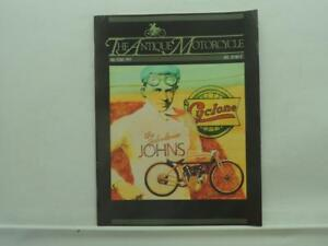1991 Fall Issue The Antique Motorcycle Magazine Indian Harley Ariel B493