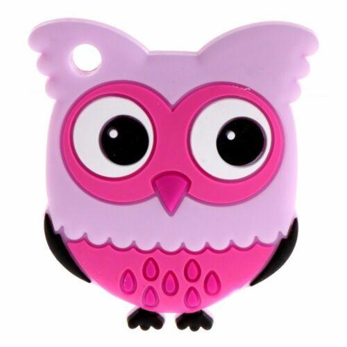 Cartoon Owl Food Grade Silicone Toys DIY Baby Sensory Teething Bracelet Making