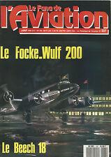 FANA DE L AVIATION N°237 BEECHCRAFT MODEL 18 / FOCKE-WULF 200 / SPCA III TYPE 30