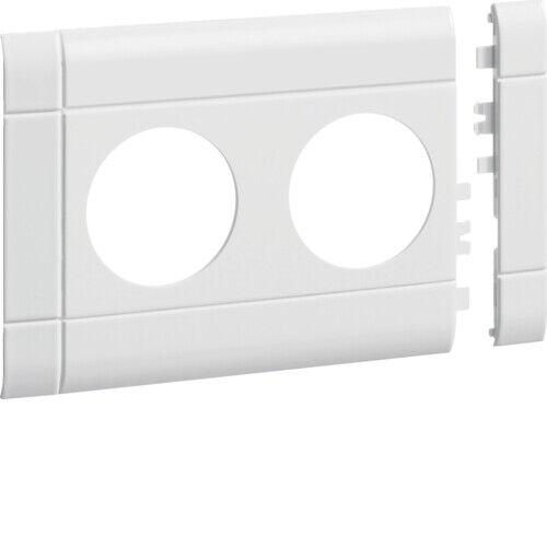 Tehalit Blende für 2 fach Steckdose KS reinweiß G38329010