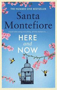 Signed-Book-Here-and-Now-by-Santa-Montefiore-First-Edition-1st-Print