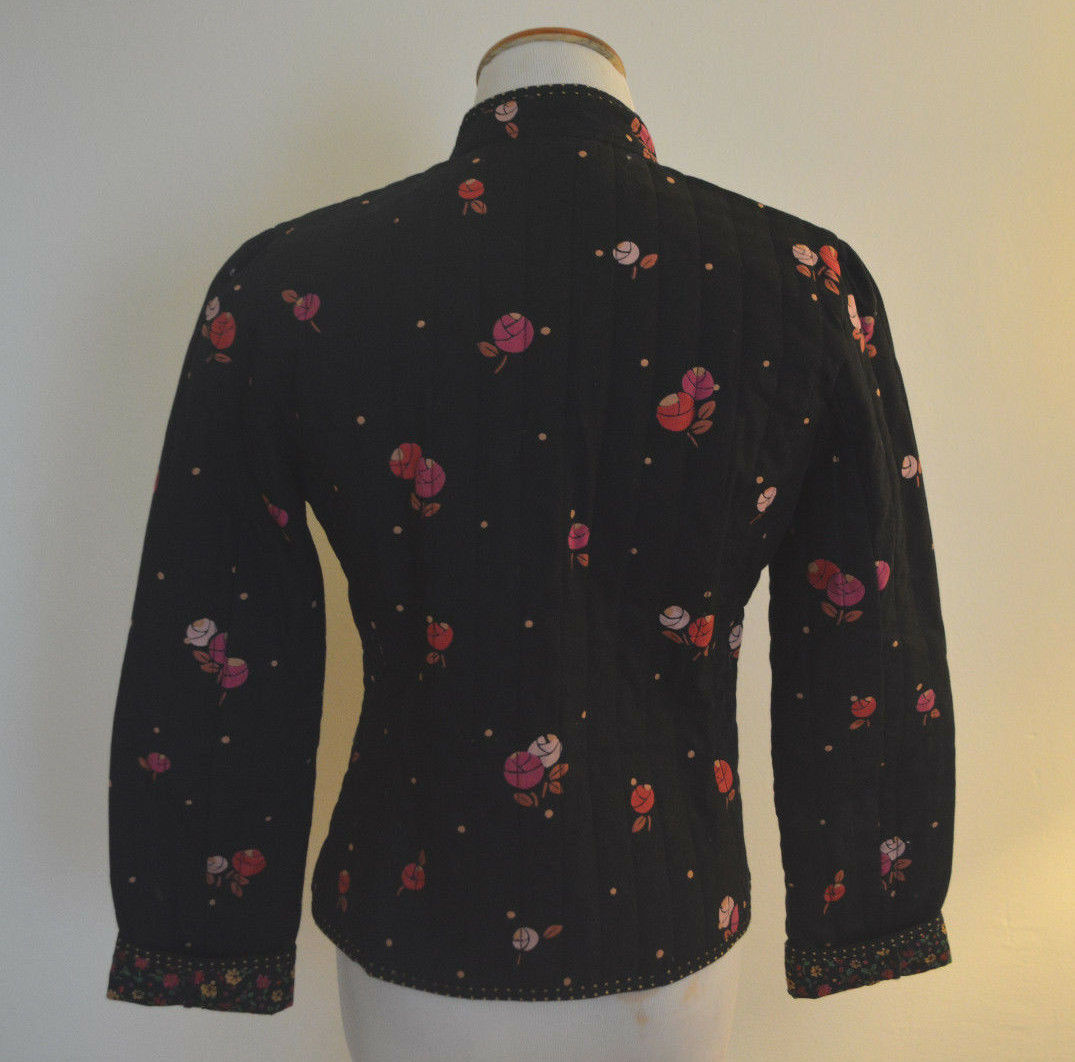 """4 Anthropologie Rose """"Calico Quilted Jacket""""  - image 7"""