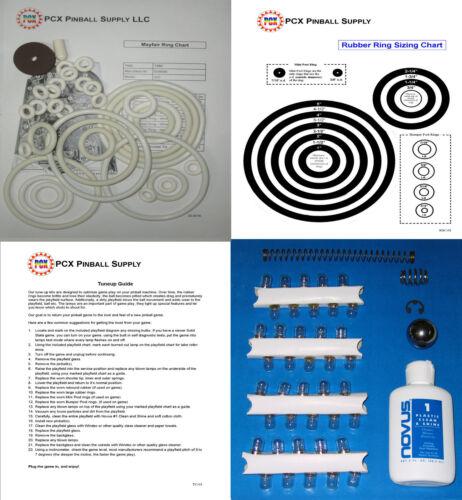 1966 Gottlieb Mayfair Pinball Machine Tune-up Kit aka May Fair
