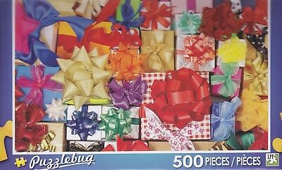 Colorful Wrapped Presents Puzzlebug 500