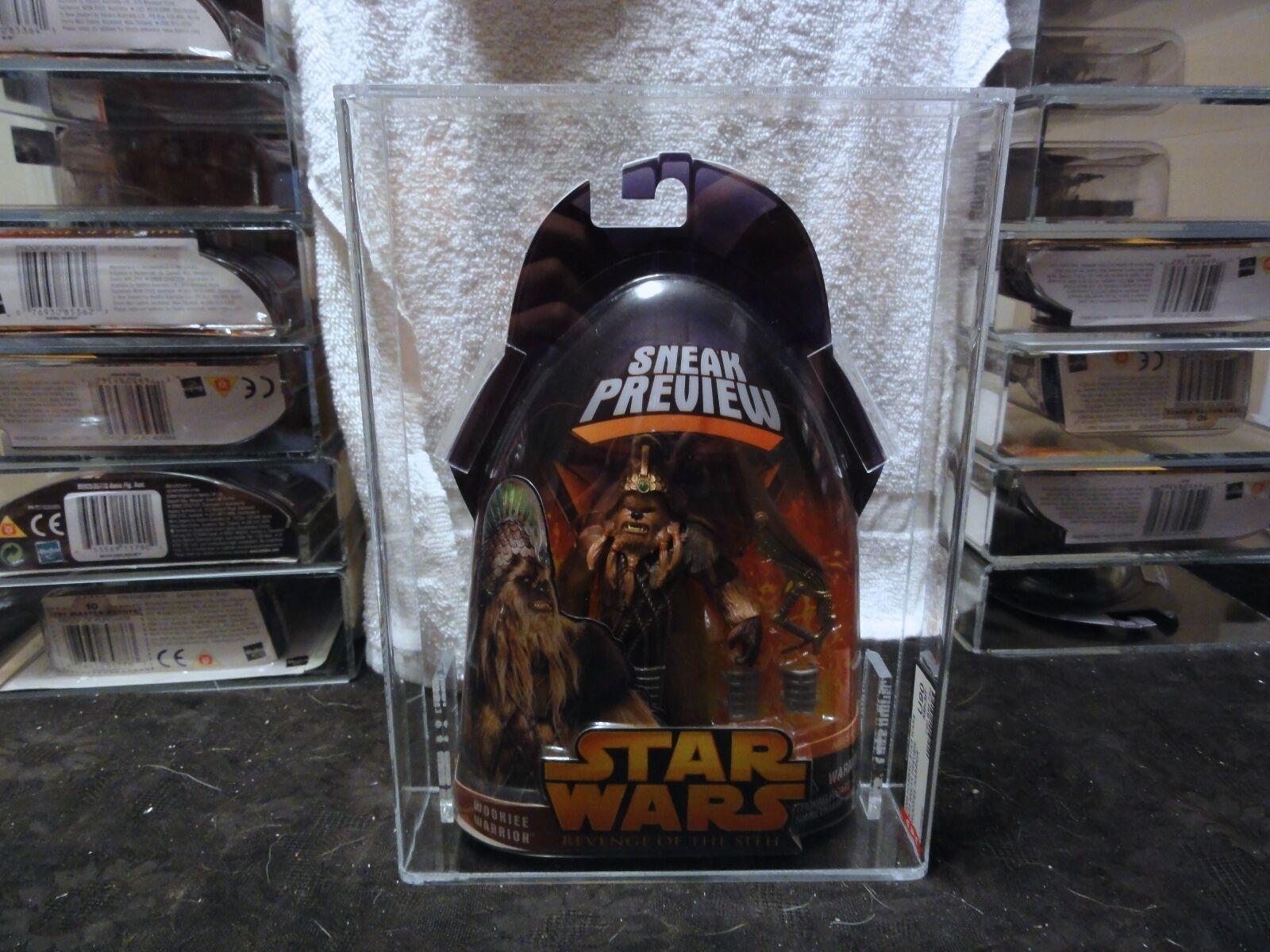 Star - wars - 2005 verrottet vorschau wookiee krieger afa versiegelt mib - box