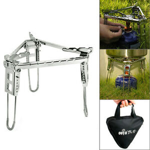 Folding-Triangle-Stand-for-One-Burner-Stove-Portable-Cradle-Bracket-Pot-Camping