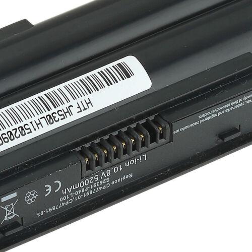 Batteria per fujitsu-siemens LifeBook AH530