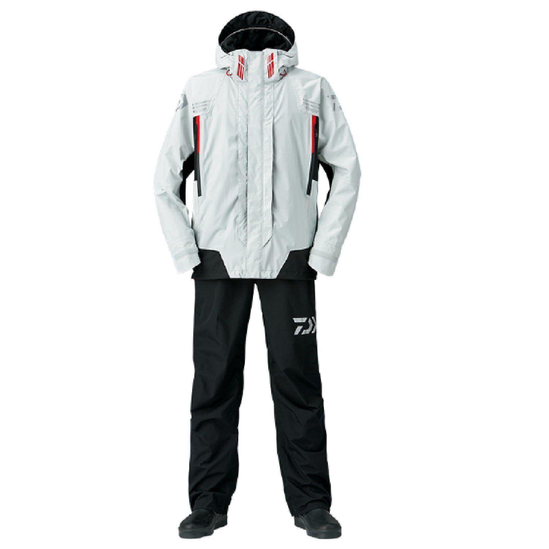 DAIWA Rain Max Hyper Combination Rain Suit SET DR3108 bianca Fishing Japan NEW