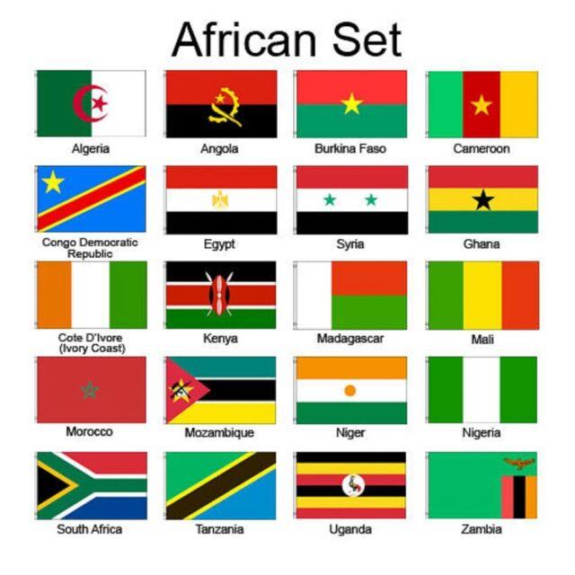Bendera Afrika