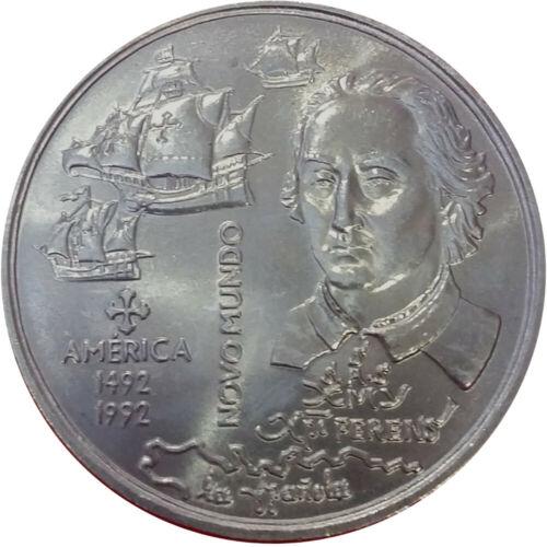 Portuguese Discoveries KM#660 America 1992 Portugal 200 Escudos New World