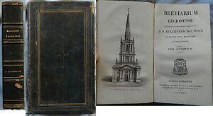 A-BREVARIUM-LUCIONENSE-Automnalis-Lutetiae-Parisiorum-1836-Gravure-Latin