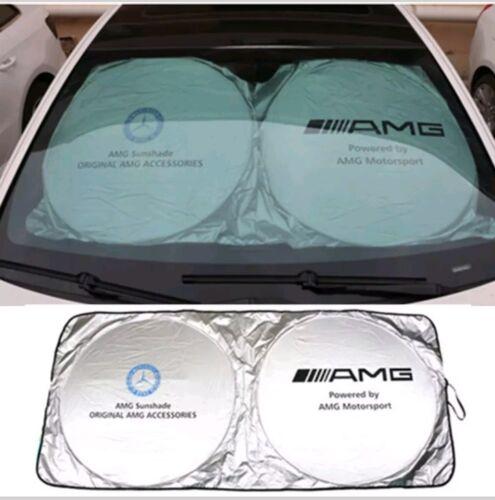 150 x 70 cm All models AMG Mercedes Benz Windshield Sunshade ... Parasol