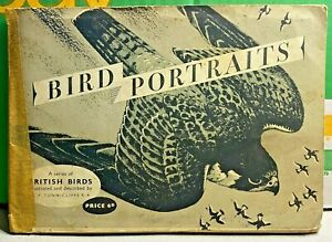 Brooke Bond-PG Tips-Bird Portraits-1957-Charles Tunnicliffe-Tea Cards-Complete