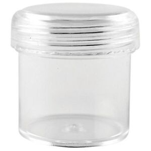 Multicraft Imports Bead Storage Cups With Screw-Top Lids 12ml - 206937